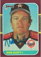 1987 Donruss Opening Day Mike Scott