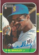 1987 Donruss Opening Day Phil Bradley