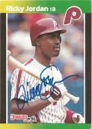1987 Donruss Ricky Jordan
