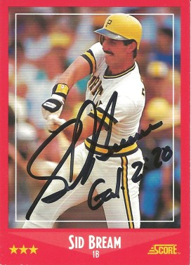 1988 Score Sid Bream