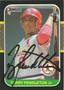 1987 Donruss Terry Pendleton