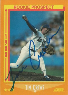 1988 Score Tim Crews