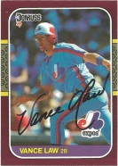 1987 Donruss Opening Day Vance Law