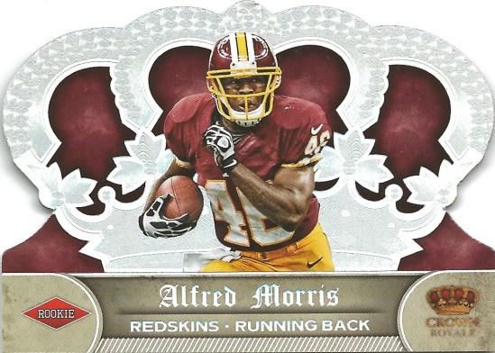 12 CR Alfred Morris die cut 137:149
