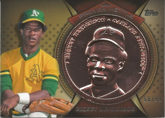 13 T Rickey Henderson Copper 58:99