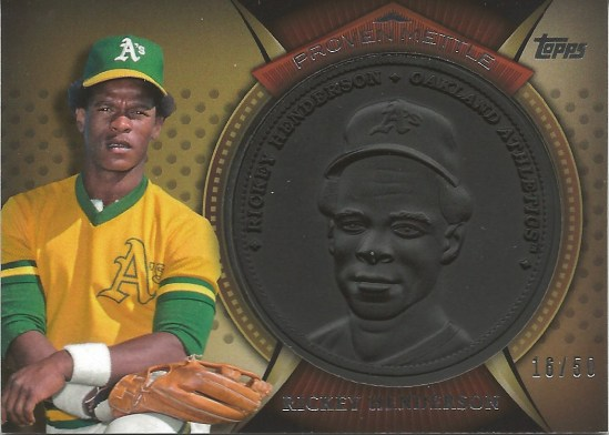 13 T Rickey Henderson Wrought Iron 16:50