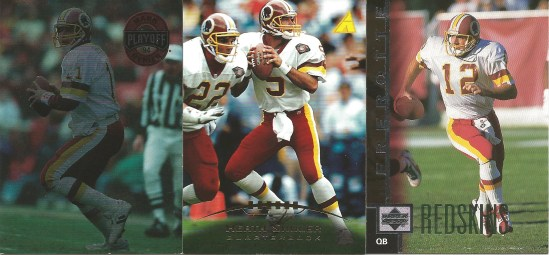 00 Mark Rypien Heath Shuler Gus Frerotte