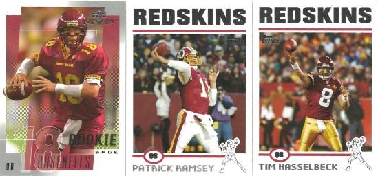 00 Sage Rosenfels Patrick Ramsey Tim Hasselbeck