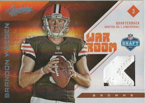 12 PA Brandon Weeden War Room Jersey 4:49