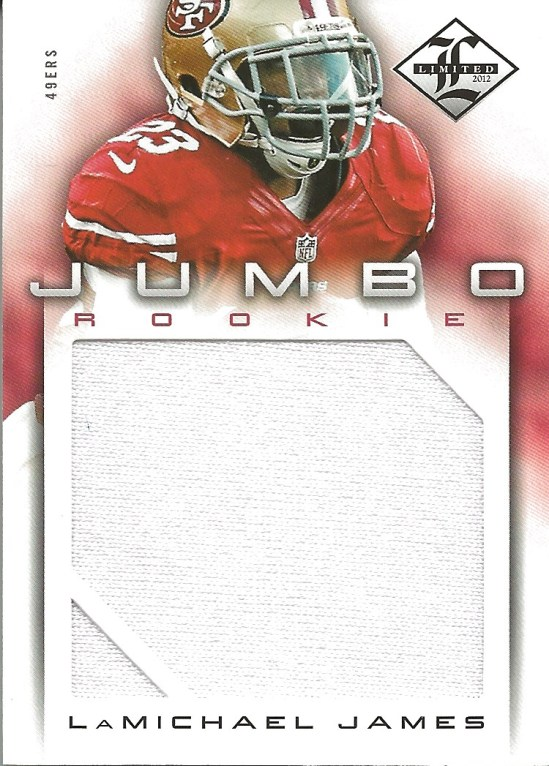 12 PL LaMichael James Jumbo Patch 37:99