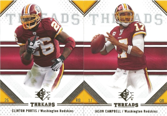 09 SP Clinton Portis Jason Campbell