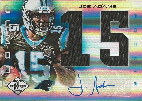 12 LL Joe Adams Auto Jersey 28:49