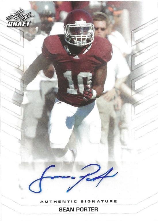 13 LD Sean Porter Autograph