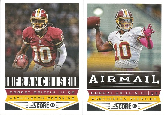 13 PS Robert Griffin III Franchise and Airmail