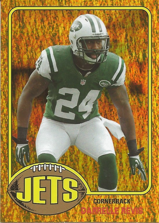 13 TA Darrelle Revis Gold Parallel