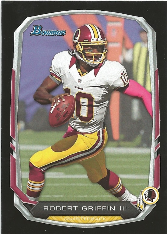 13 TB Robert Griffin III Black Border