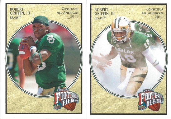 13 UD Robert Griffin III Football Heroes