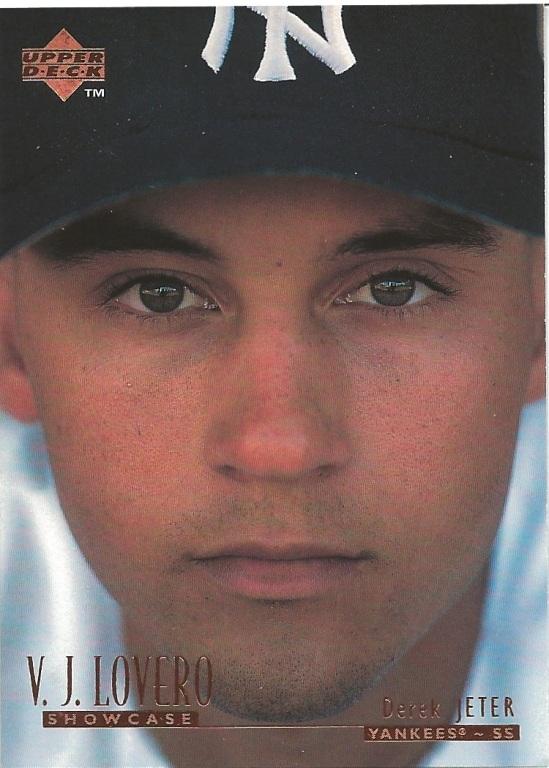 96 UD Derek Jeter VJ Lovero