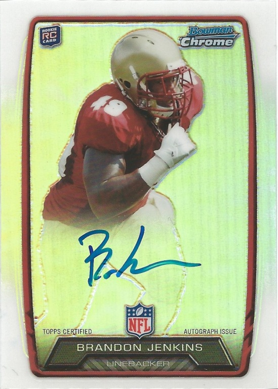 13 BO Brandon Jenkins Chrome Auto