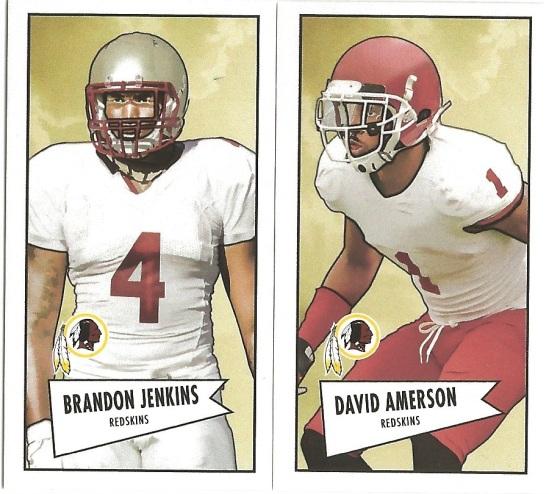 13 BO Brandon Jenkins David Amerson Minis