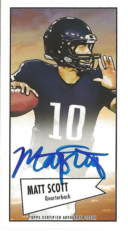 13 BO Matt Scott Mini Autograph