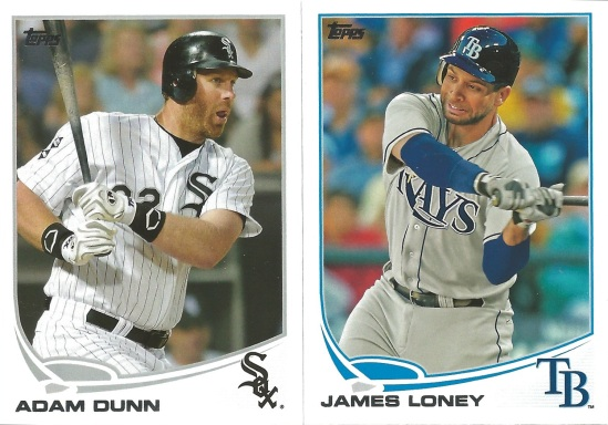 13 T Adam Dunn James Loney