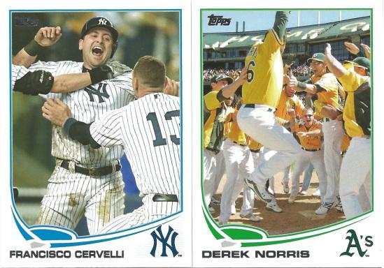 13 T Francisco Cervelli Derek Norris