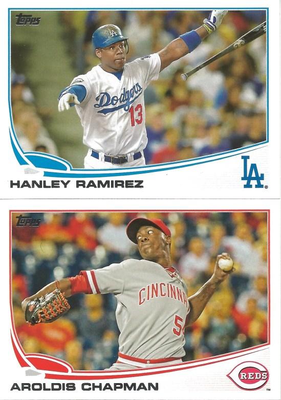 13 T Hanley Ramirez Aroldis Chapman