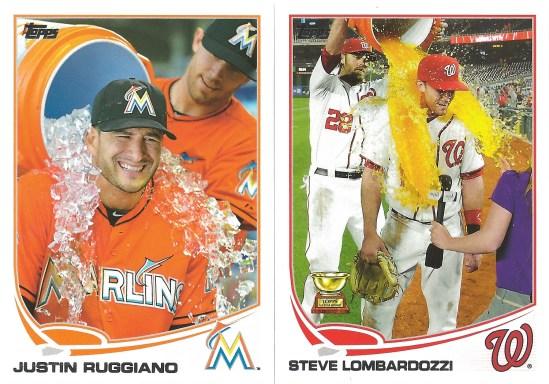 13 T Justin Ruggiano Steve Lombardozzi