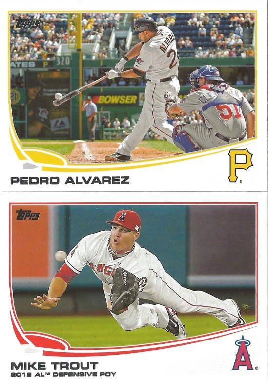 13 T Pedro Alvarez Mike Trout