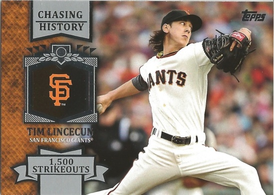 13 T Tim Lincecum Chasing History