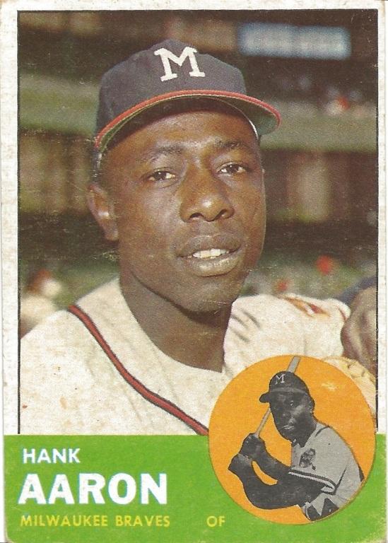 63 T Hank Aaron