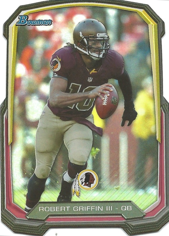 13 BO Robert Griffin III Die Cut