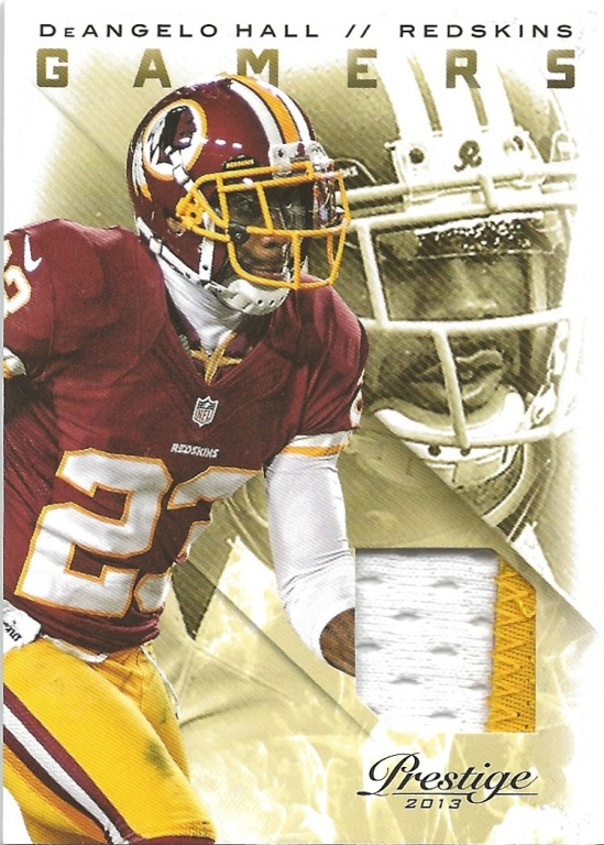 13 PP DeAngelo Hall Gamers Jersey