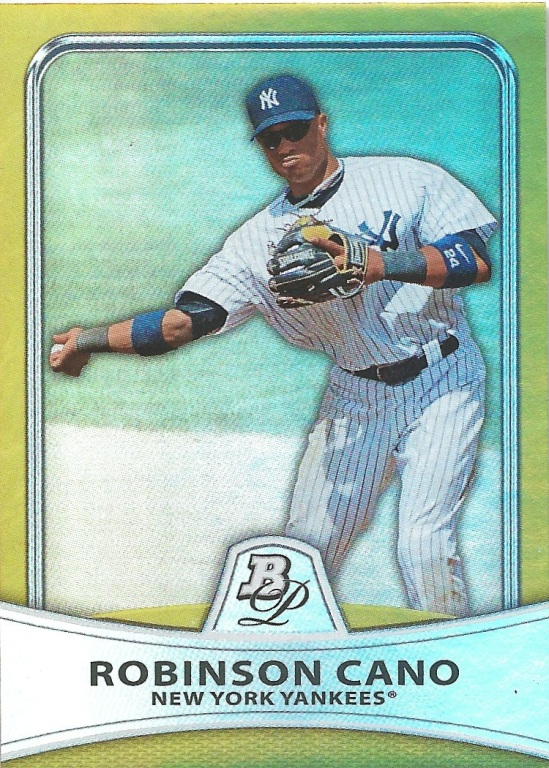 10 BP Robinson Cano Gold Parallel 440:599
