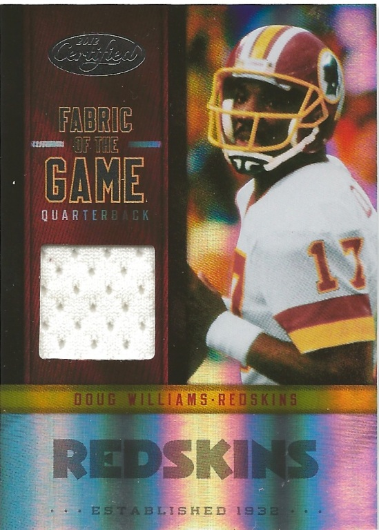 12 LC Doug Williams Fabric of the Game Jersey 54:99
