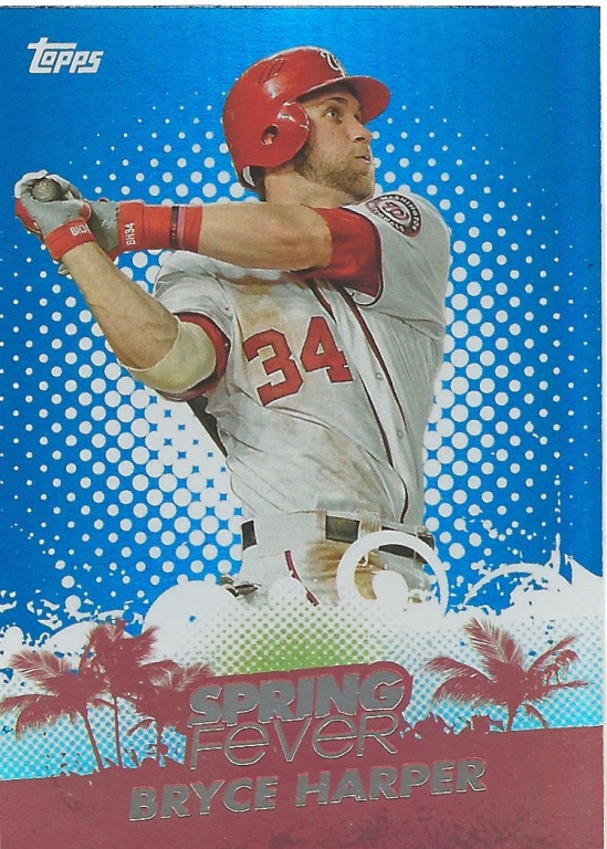 13 TO Bryce Harper Spring Fever
