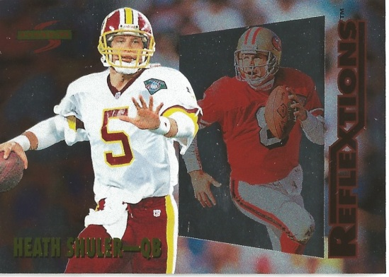 95 SP Heath Shuler Reflextions