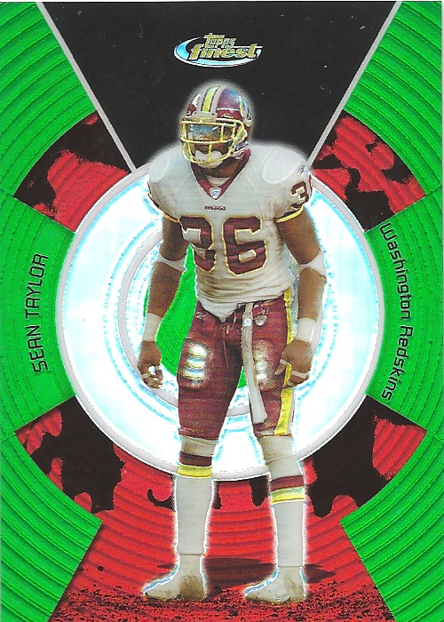 05 TF Sean Taylor Green Refractor 178:199