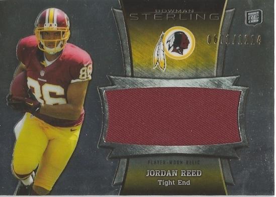 13 BS Jordan Reed Relic 671:1214