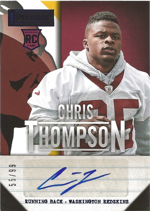 13 PP Chris Thompson Auto 55:99