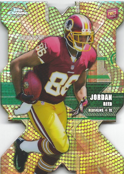 13 TC Jordan Reed Die Cut