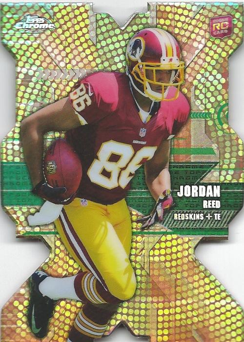 13 TC Jordan Reed Die Cut