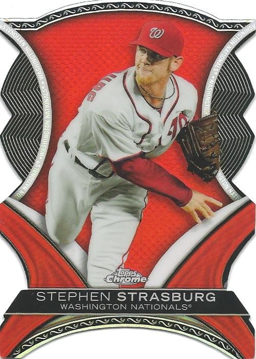 13 TC Stephen Strasburg Die Cut