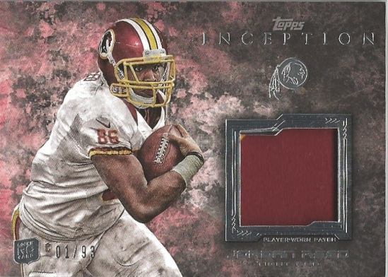 13 TI Jordan Reed Player Worn Patch 1:93