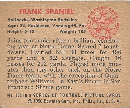 50 BO Frank Spaniel B