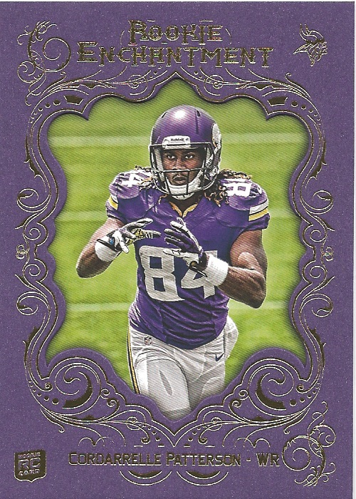 13 TM Cordarelle Patterson Rookie Enchantment