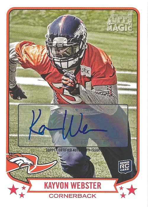 13 TM Kayvon Webster Autograph
