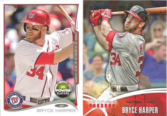14 TO Bryce Harper
