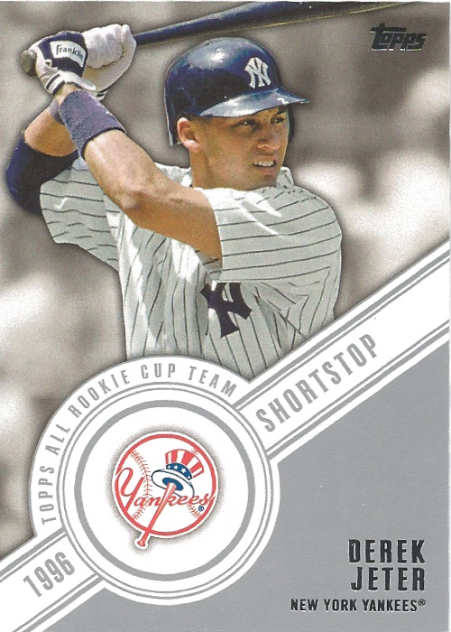 14 TO Derek Jeter All Rookie Cup Team